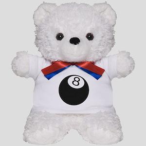 Riyah-Li Designs 8 Ball Teddy Bear