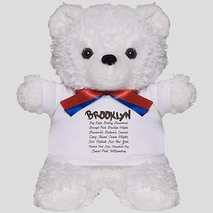 Brooklyn Hoods Teddy Bear