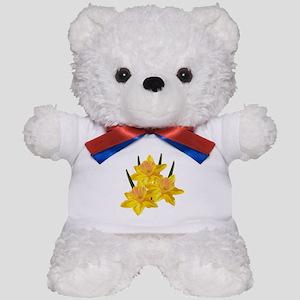 Three Jonquils Teddy Bear