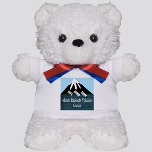 Mount Redoubt Volcano Teddy Bear