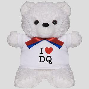 I heart DQ Teddy Bear