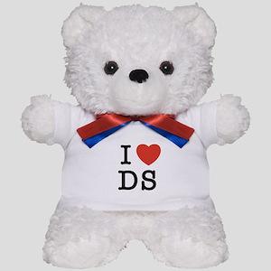 I Heart DS Teddy Bear