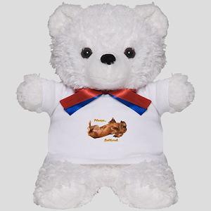 Bellyrub Doxie Teddy Bear