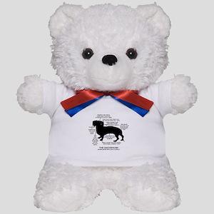 Dachshund Chart Teddy Bear