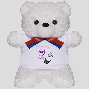 "Proud Mom to my ""O"" baby Teddy Bear"