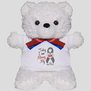 Missing 1 Son BRAIN CANCER Teddy Bear