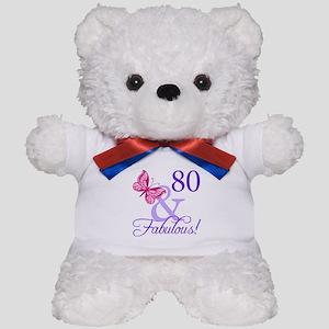 80 And Fabulous Teddy Bear