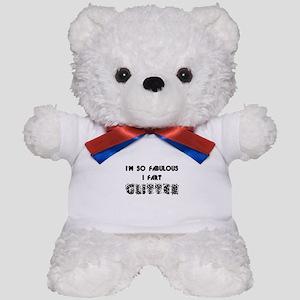 Fart Glitter Teddy Bear