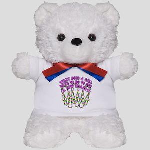 Sexy Mardi Gras Teddy Bear