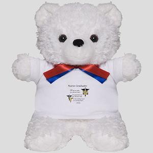 RN Nurse Graduate Teddy Bear CD