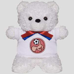 Soccer Baby Kick Teddy Bear