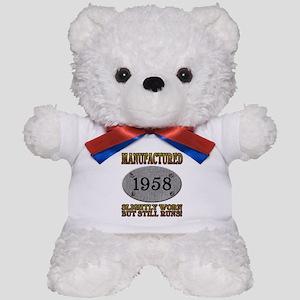 Manufactured 1958 Teddy Bear