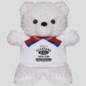 Alcatraz Teddy Bear