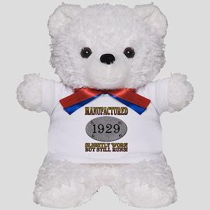 Manufactured 1929 Teddy Bear