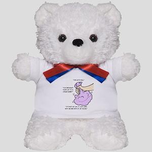 The Cat's Sick Teddy Bear