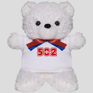 502 red Teddy Bear