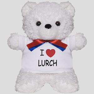I heart lurch Teddy Bear