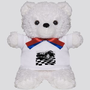 2011 Mustang Flag Teddy Bear