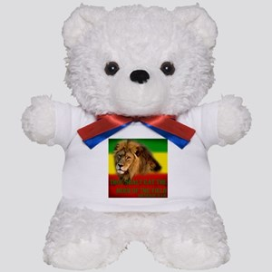 Rastafarian Lion Teddy Bear