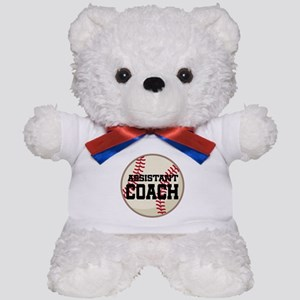 Baseball Assistant Coach Teddy Bear