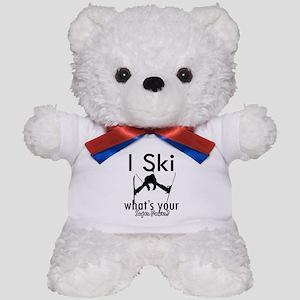 I Ski Teddy Bear