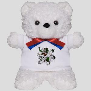Allison Tartan Lion Teddy Bear