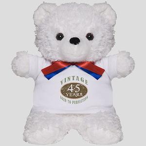 Vintage 45th Birthday Teddy Bear
