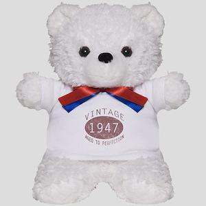 1947 Vintage (Red) Teddy Bear
