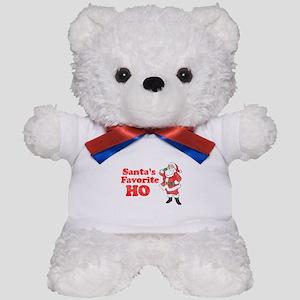 Santa's Favorite Ho! Teddy Bear