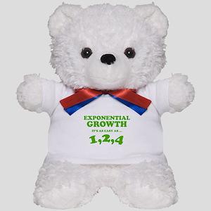 Exponential Growth Teddy Bear