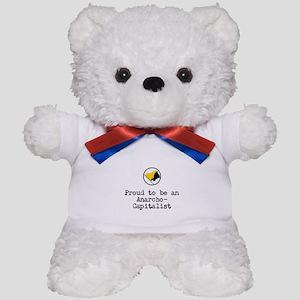 Proud Anarcho-Communist Teddy Bear