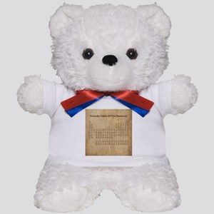 Vintage Periodic Table Teddy Bear