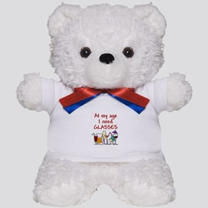 I need glasses Teddy Bear