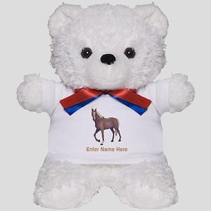 Personalized Horse Teddy Bear