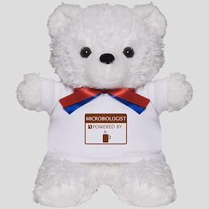 Microbiologist Powered by Coffee Teddy Bear