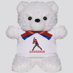 Personalized Baseball Teddy Bear