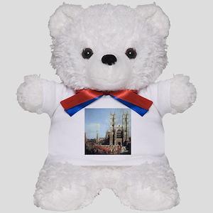 Canaletto Westminster Abbey Teddy Bear