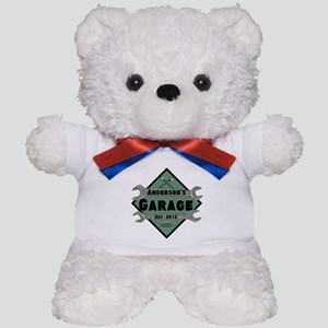 Personalized Garage Teddy Bear