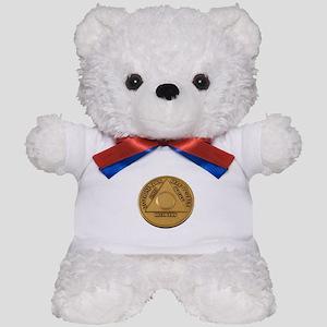 Alcoholics Anonymous Anniversary Chip Teddy Bear