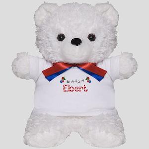 Ebert, Christmas Teddy Bear