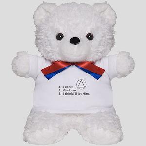 First Three Steps Teddy Bear