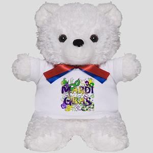 MARDI GRAS Teddy Bear