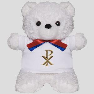 Golden 3-D Chiro Teddy Bear