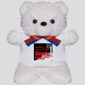 Alcatraz Summer Camp Teddy Bear