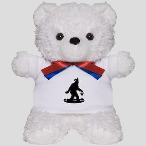 Easter Squatchin Teddy Bear