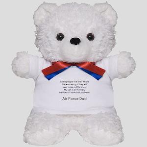AF Dad Son Difference Teddy Bear
