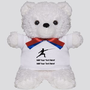 Personalize It, Fencing Teddy Bear