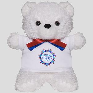 Baseball Coaches Rock Teddy Bear