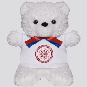 Aegishjalmur: Viking Protection Rune Teddy Bear