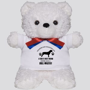 Bull Mastif Mommy designs Teddy Bear